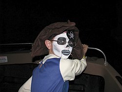 Pirate Speeds Away