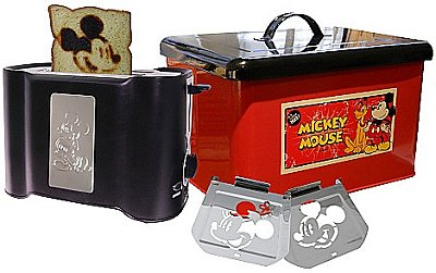 Attractive The Newest Item On My Wish List Is The Limited Edition Vintage Mickey Mouse  Bread Box Set.