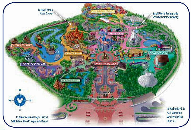 Disneyland Map Pdf 2013 At disneyland's festival